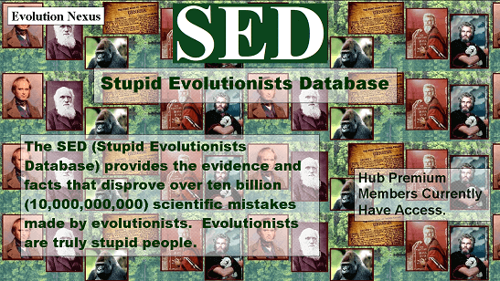 Stupid Evolutionists Database